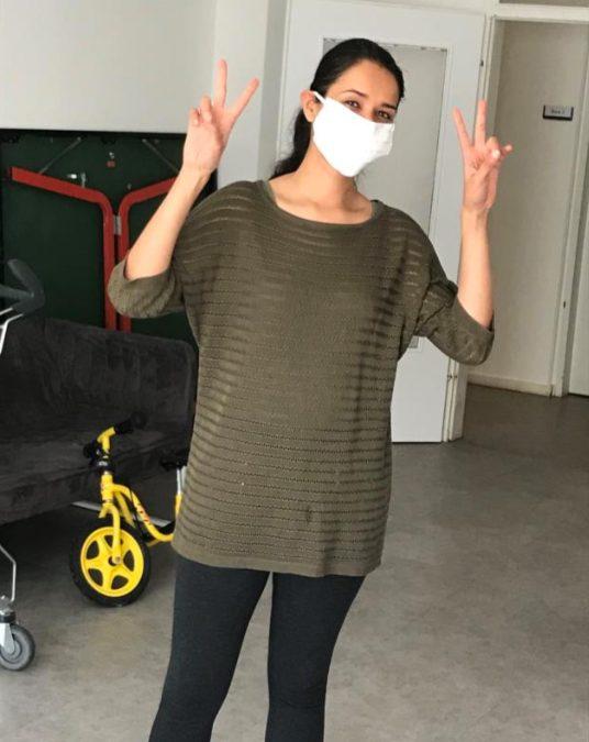 Masken für die Wohnraumhilfe